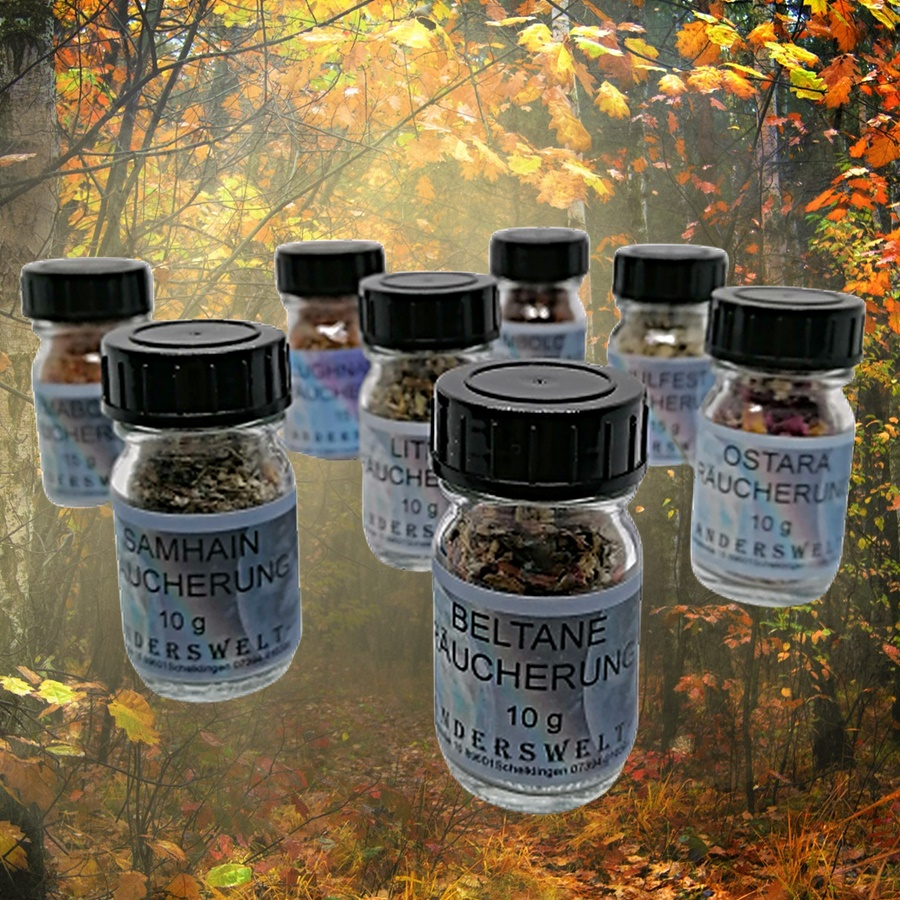 Wheel of the Year Incense Blends