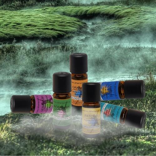 Ätherische Öle aus biologischem Anbau