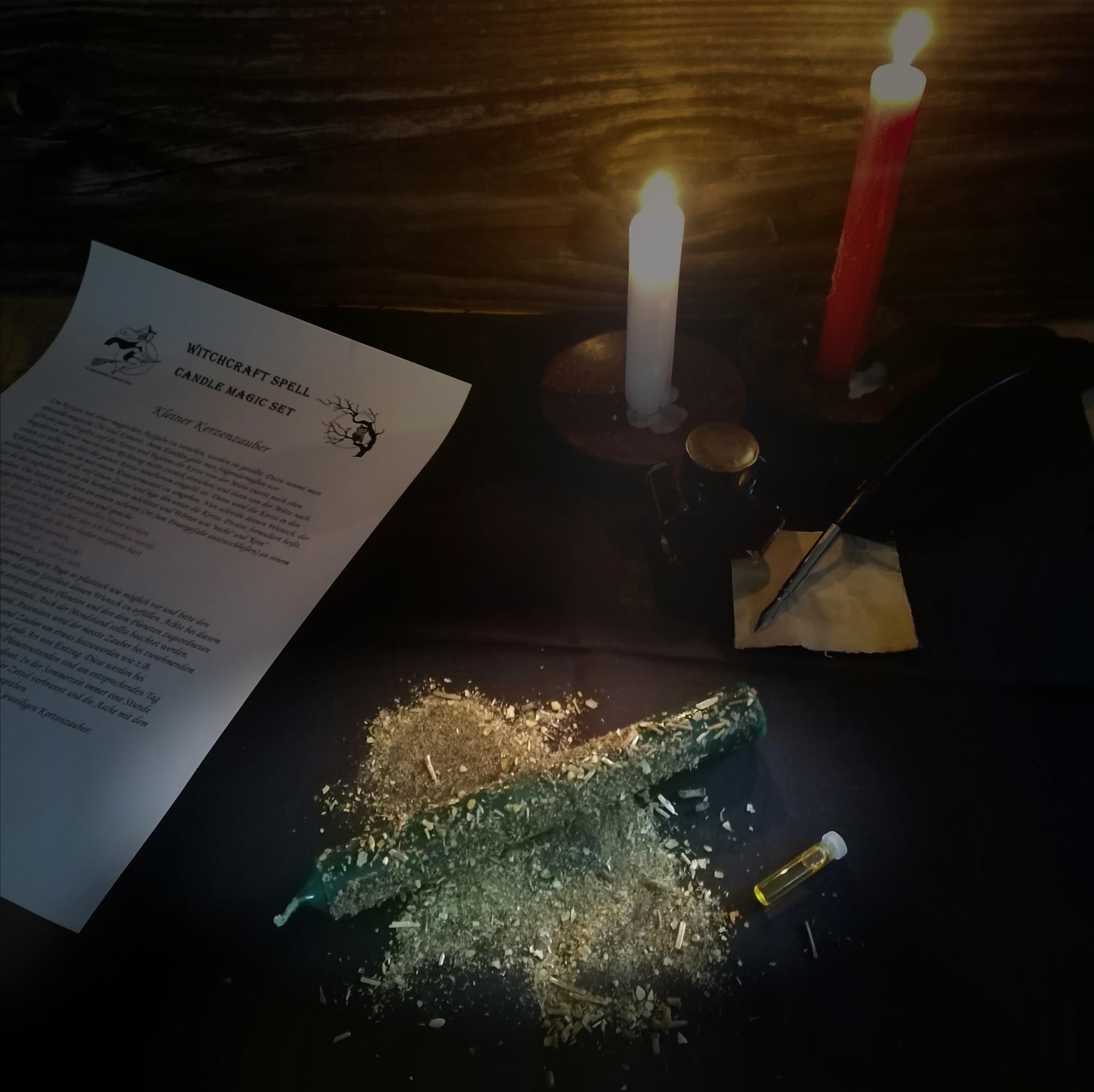 Small candle magic