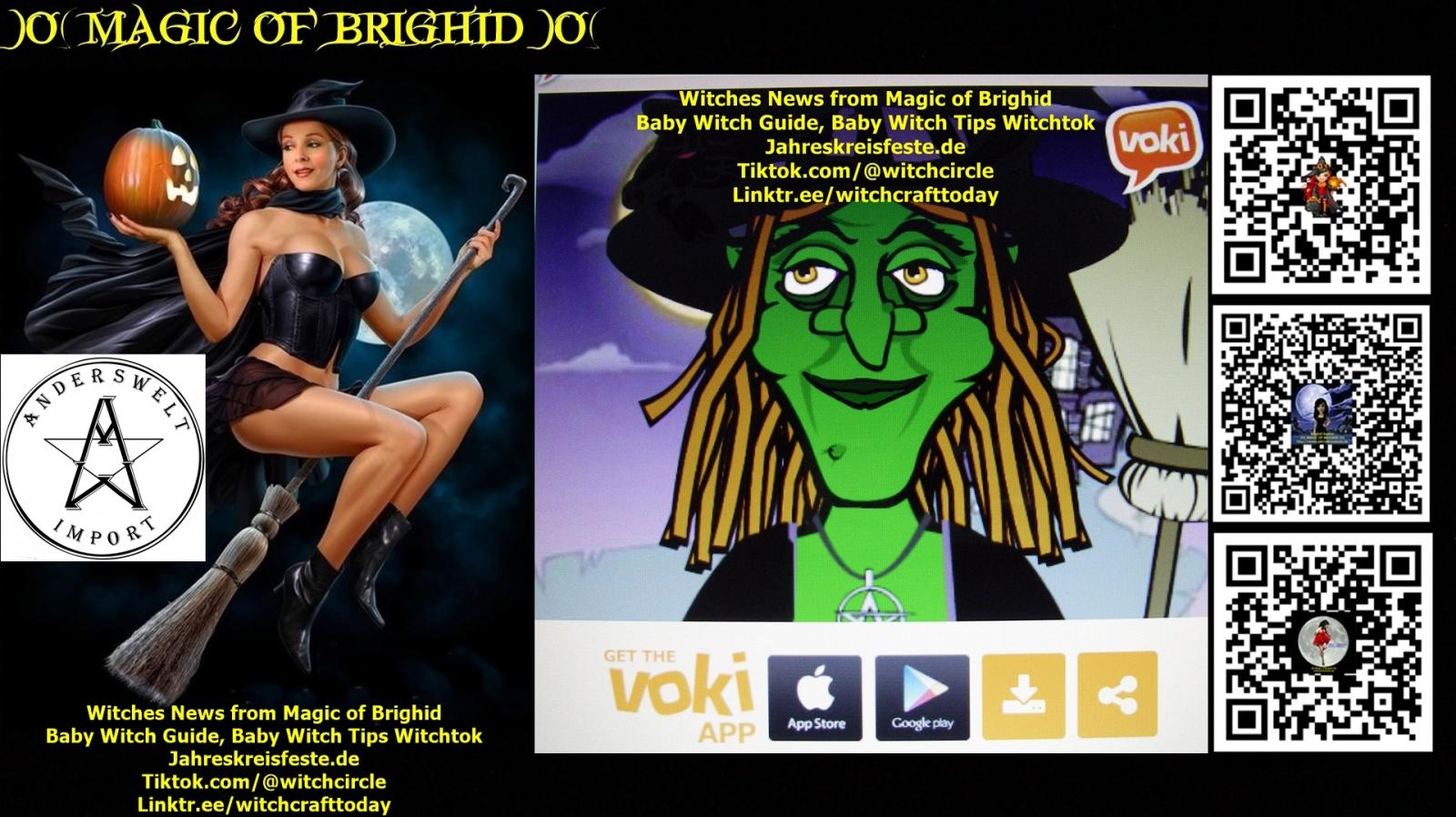 Witches News from Magic of Brighid, Baby Witch Guide, Baby Witch Tips Witchtok, Sorcieres tiktok