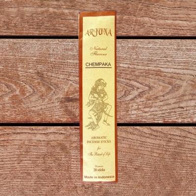 Arjuna Natural Flavour Räucherstäbchen Chempaka
