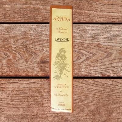 Arjuna Natural Flavour bastoncini di incenso Lavanda