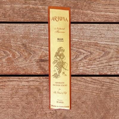 Arjuna Natural Flavour bastoncini di incenso Muschio