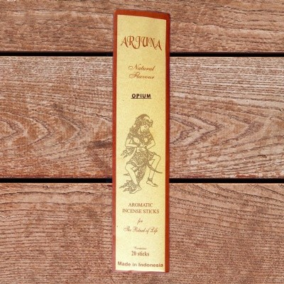 Arjuna Natural Flavour Räucherstäbchen Opium