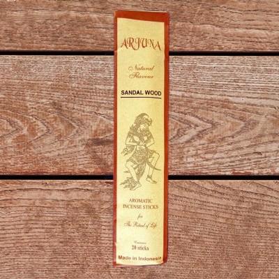 Arjuna Natural Flavour Incense sticks Sandalwood