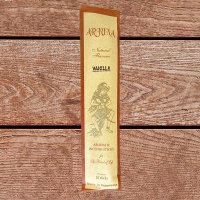 Arjuna Natural Flavour Räucherstäbchen Vanille