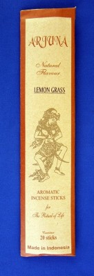 Arjuna Natural Flavour Incense sticks Lemon grass