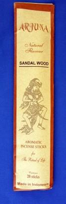 Arjuna Natural Flavour bastoncini di incenso Sandalo