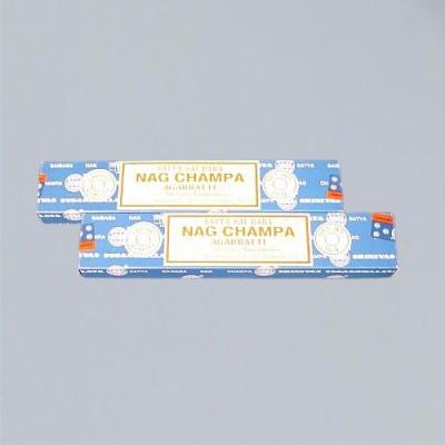 Bastoncini d'incenso Sai Baba Nag Champa 15 g UE = 12 pezzo