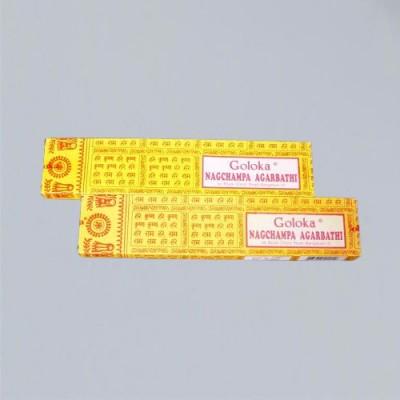 Incense Sticks Golokha Nag Champa 16 g 1 piece