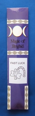 Magic of Brighid Bastoncini di incenso Fast Luck