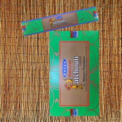 Räucherstäbchen Satya Natural Patchouli 15 g