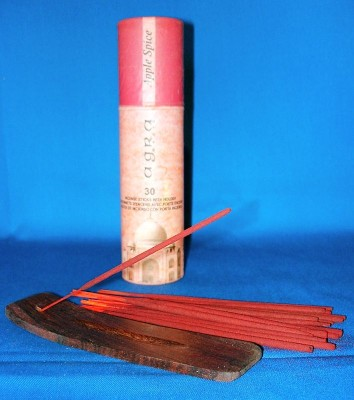 Agra Magic incense sticks, apple