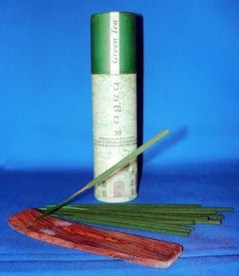 Agra Magic incense sticks, green tea