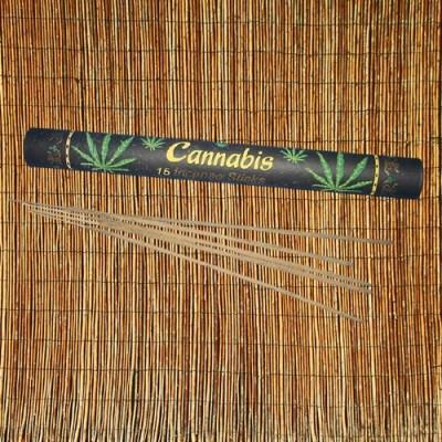 Cannabis Räucherstäbchen