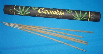 Cannabis Räucherstäbchen VE = 12 Stück