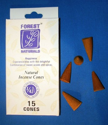 Forest Naturals Incense cones, happiness