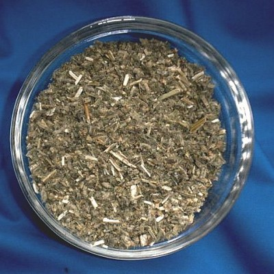 Horehound white cutted (Marrubium vulgare) Bag with 500 g.