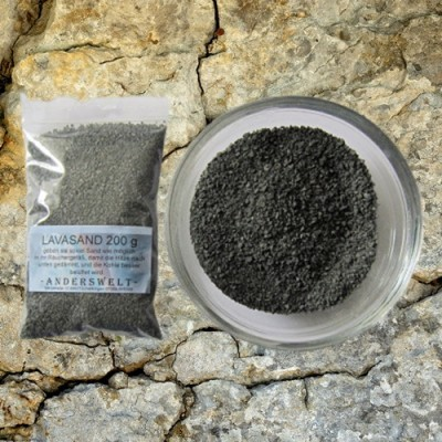 Original lava sand