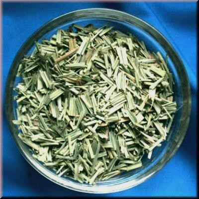 Lemongrass (Cymbopogon citratus) Bag with 250 g.