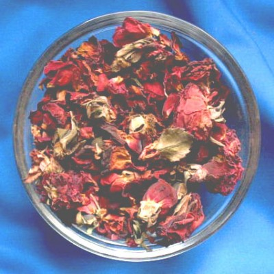 Rose Petals (Flores Rosae centifoliae) Bag with 25 g.