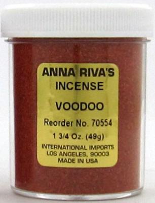 Anna Riva encens Voodoo