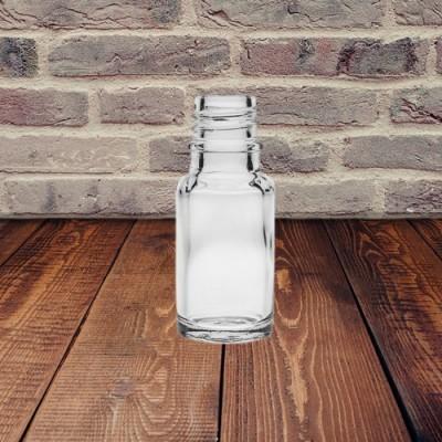 Bottiglia di vetro trasparente da 10 ml