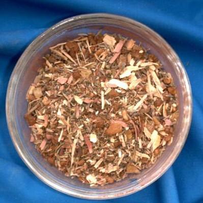 Chakra-Räuchermischung - Wurzelchakra Beutel mit 250 g.