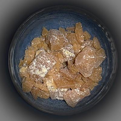 Burgunder resina