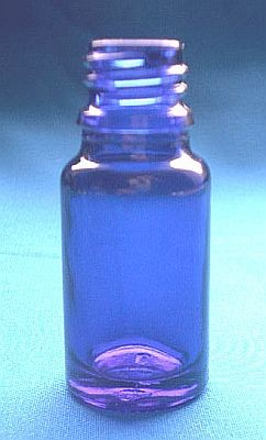 Dropper Vials blue 10ml PU