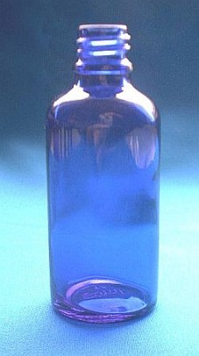 Dropper Vials blue 100ml 1 piece