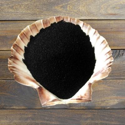 Schwarzes Salz Beutel mit 500 g.