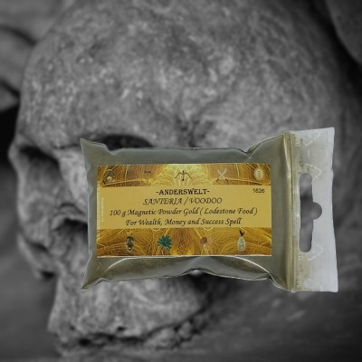 Magnetic Powder Oro Santeria Voodoo