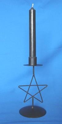 Candle Holder Pentagram