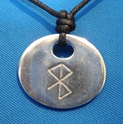 Binderunen Amulett Friede und Glückseeligkeit