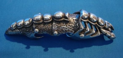 Bague armure Homard (Armour Ring)