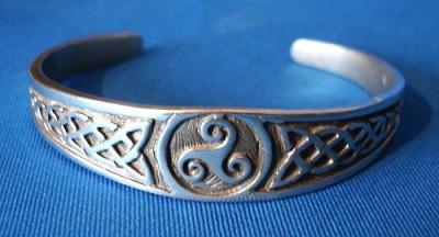 Bracciale Triquetra celtica