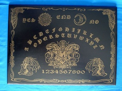 Witchboard Gothic Bat (Ouija Board)
