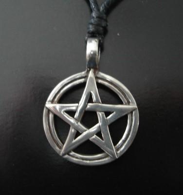 Ciondolo Pentagramma nel cerchio