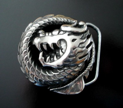 Belt Buckle Dragon