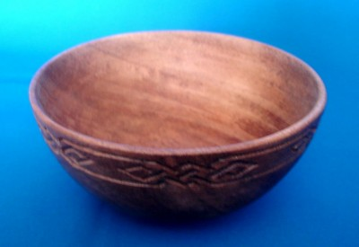 Viking wood-bowl