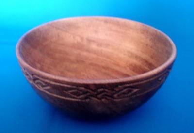 Ciotola vichinga di legno