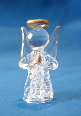 Schutzengel aus Glas
