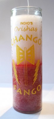 7 Day Candles - Orishas Chango 1 piece