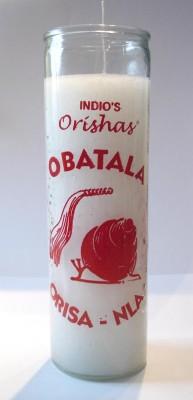 7 Tage Kerzen - Orishas Obatala