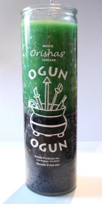 7 Day Candles - Orisha Ogun PU = 12 pieces