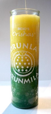 7 Day Candles - Orishas Orunla PU = 12 pieces