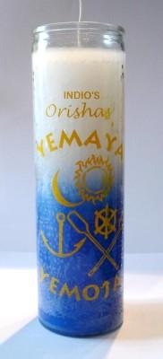 Bougies des 7 jours - Orishas Yemaya