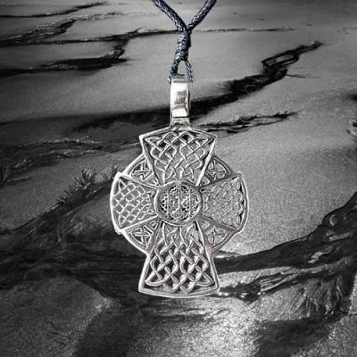 Pendant Celtic cross, long