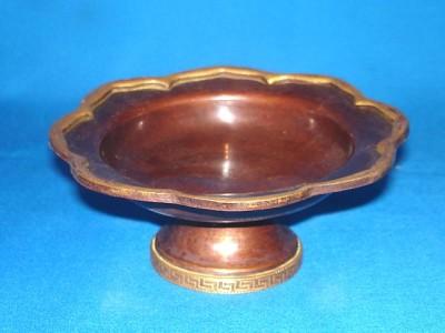 Incense Burner Copper Bowl Lotus